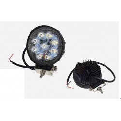 FARO LED REDONDO MULTITENSION 10-80V DC 1800 LUMENS